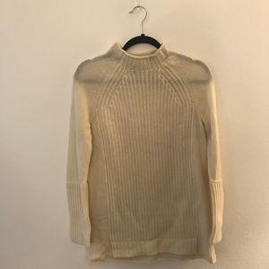 JCrew Cream Wool Sweater, XS